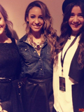 Danielle Peazer, Eleanor Calder and Perrie Edwards