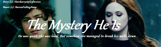 The Mystery He Is. (coming soon to wattpad)