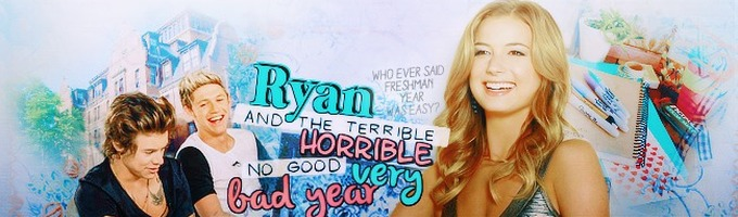 Ryan and the Terrible, Horrible, No Good, Very Bad Year