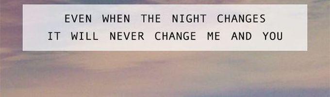 No Regrets?